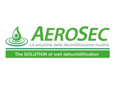 Aerosec - Logo Bianco